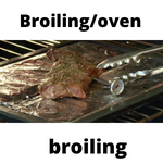 Broiling/oven broiling