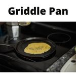 Griddle pan for stove